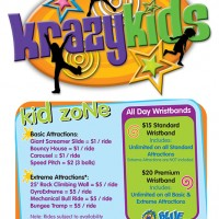Logo Design Krazy Kids, Charlotte NC