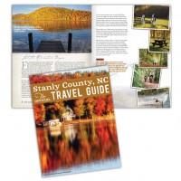 Visit Stanly NC magazine design