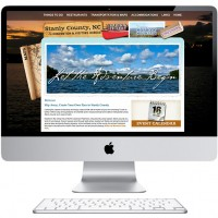 Website Design, Visit Stanly, Albemarle NC