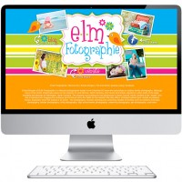 Website Design e.l.m. Fotographie