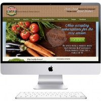 Farm Fresh Ventures - web design Wadesboro, NC